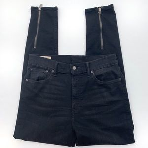 Ralph Lauren High Rise Tompkins Skinny Ankle Jeans